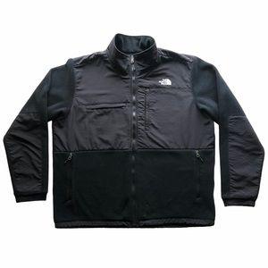 The North Face Men's Blk Denali Fleece Jacket XXL